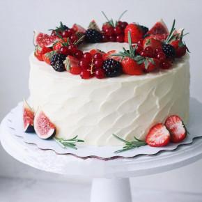 №246 Ягодный торт
