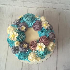 №292 Торт с цветами