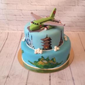 №330 Торт путешествие
