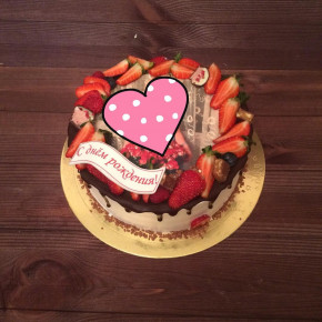 №352 Торт с фотопечатью