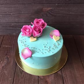 №403 Торт с цветами