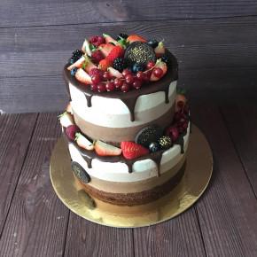 №411 Торт три шоколада