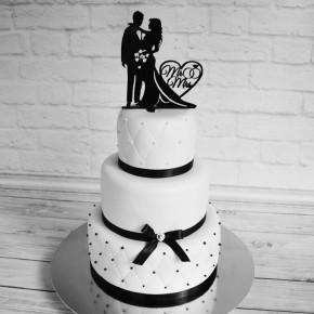 №455 Свадебный торт 3 яруса
