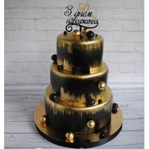 №459 Торт на День Рождения 50 лет